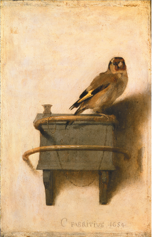 Carel Fabritius- The Goldfinch, 1654.