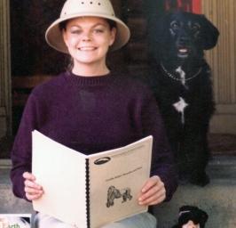 Carole in safari hat.jpg